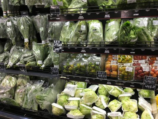 ルスタンスの野菜