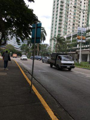 学校までの道