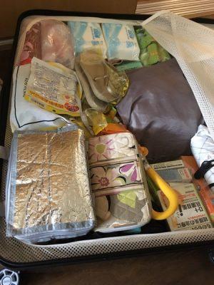 スーツケース片側