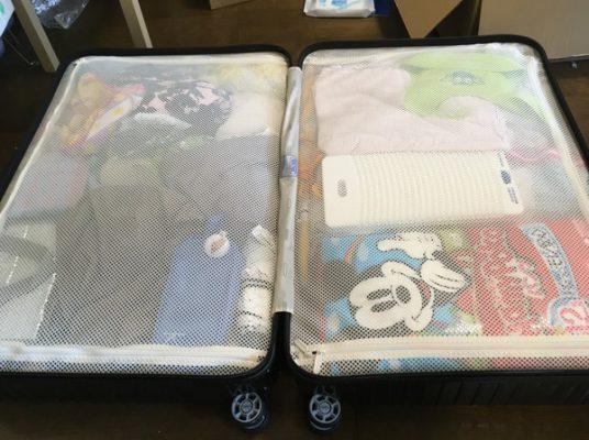 スーツケース全体