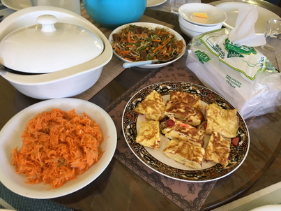 語学学校の食事
