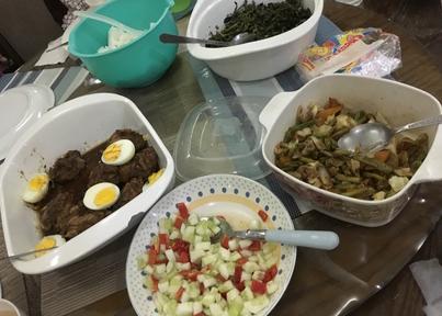 学校の食事