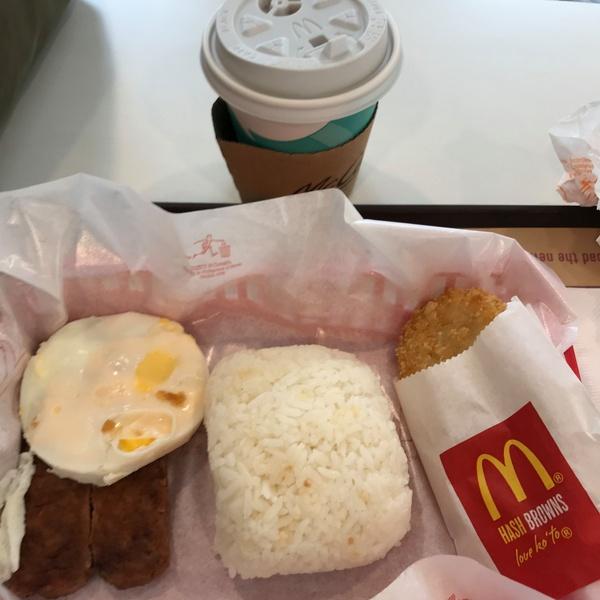 フィリピンの朝マック