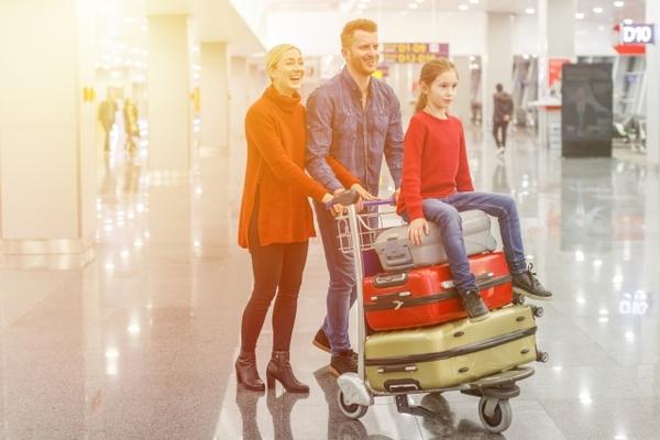 マイルを貯めて家族旅行